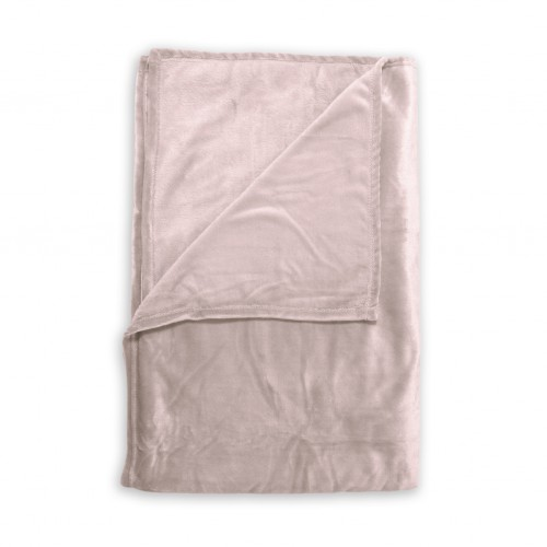 Zo! Home Fleece plaid Cara 140x200 (shell nude)
