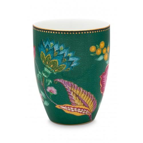 PiP Studio mok Jambo Flower (green, 300ml)