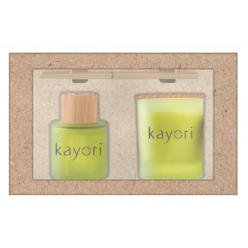 Kayori Giftbox Kintsugi (kaars + diffuser)