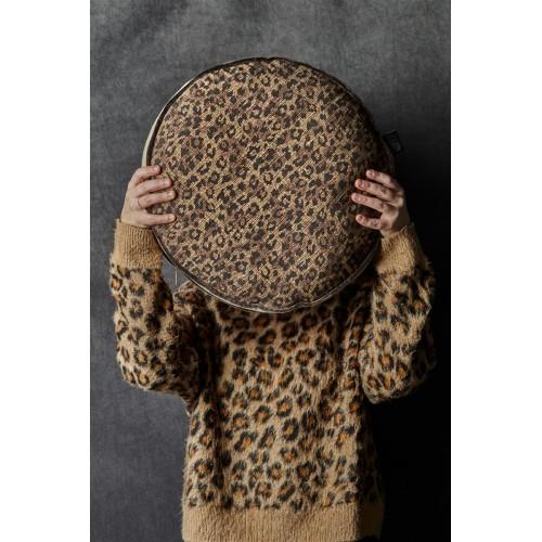 KAAT sierkussen Pardus (brown, 40x40)