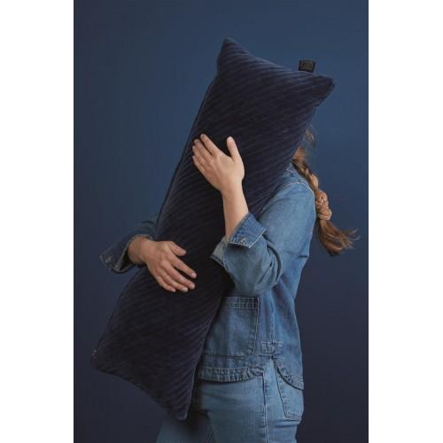 KAAT sierkussen Jenaux (dark blue, 30x90cm)