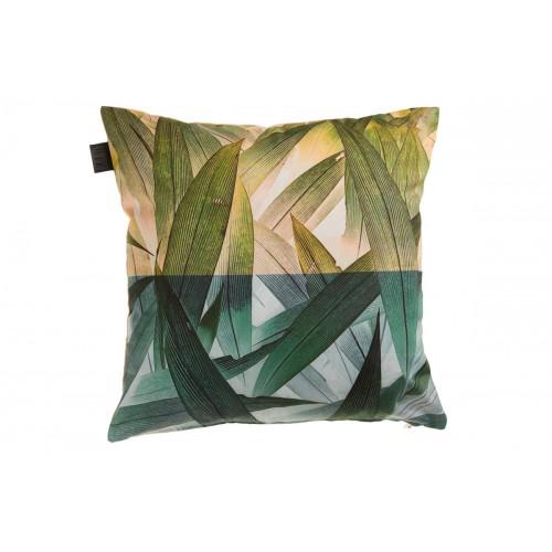 KAAT sierkussen Tropical Flora (groen, 45x45cm)