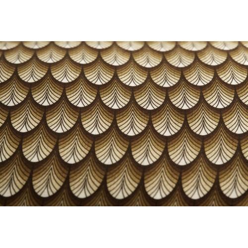 KAAT sierkussen Astoria (gold, 30x50cm)