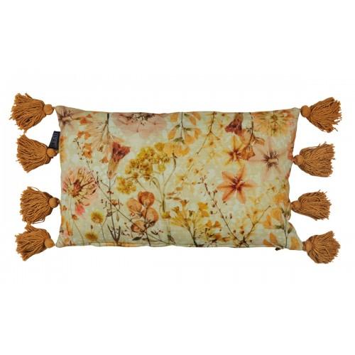 KAAT sierkussen Wildflower (yellow, 30x50cm)