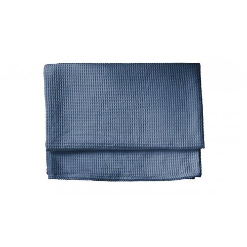 HNL living Wafel Plaid Steel Blue